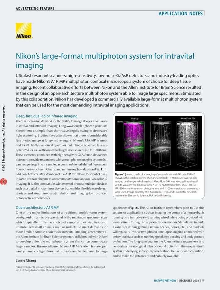 Application Notes   Nikon Instruments Inc